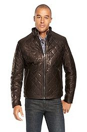 'Nuro' | Quilted Fur-Lined Leather Jacket #bossblack
