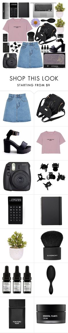 """""""newchic [4]"""" by inkcoherent ❤ liked on Polyvore featuring WithChic, NARS Cosmetics, Fuji, Sephora Collection, H&M, LEXON, Muji, Lux-Art Silks, Givenchy and Odacité"""