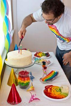 Creative Food: Rainbow Party