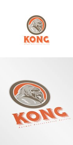 Kong Animal Preservation Logo