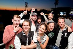 Unsere #SEAT Ambassadoren Janina Uhse und die DONOTS mit Simon Böer und Sebastian Stahl bei ENJOY 2 DRIVE bei Rock am Ring.