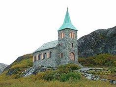 King Oscar II's Chapel in Grense Jakobselv, Norway. Just on the Russian border.