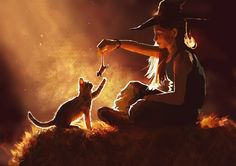 Witch Child by Tomislav Jagnjić