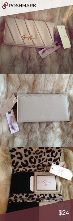 "💥 Jessica Simpson wallet 💥 Brand new ""Lisa"" wallet in Ecru! Jessica Simpson Bags Wallets"