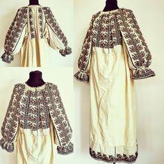 Regală din Muscel Folk Costume, Costumes, Folk Embroidery, Romania, Kimono Top, Coats, Popular, Traditional, Blouse