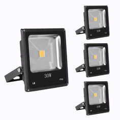 LE Offer Pack of 3 Units, Outside LED Flood Lights, HPS Bulbs Equiv, Warm White, Super Bright Outdoor Security Lights. Best Service and High-quality Bulbs for You. Outdoor Security Lights, Amazon Specials, Led Fixtures, Led Flood Lights, The Unit, Bright, Bulbs, Warm, Lightbulbs