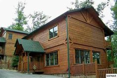 "Gatlinburg, TN: PRICE: $ 649,200         Soaring above Gatlinburg Falls is ""Eagles Nest"". This cabin has a great view of the mountains. There is plenty of room for rel..."
