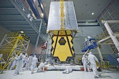 NASA's Webb Telescope Clean Room 'Transporter' Follow @GalaxyCase if you love Image of the day by NASA #imageoftheday