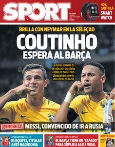 Após cravar interesse do Barça, jornal catalão diz que Coutinho espera oferta #globoesporte
