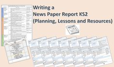 PRIMARY EARTH 🌍  Writing a Newspaper Report KS2 (Planning and Resources) This Lesson pack is designed to help KS2 pupils learn more about how to write a Newspaper Report, such as the features of the text, planning a newspaper report and a wow lesson. The planning pack is suitable for all abilities and will teach children to write a detailed Newspaper Report, fully linked to the national curriculum. Children will learn that the purpose of a Newspaper is to inform readers of what is happening… Writing Process Posters, Newspaper Report, Primary English, National Curriculum, English Lessons, English Language, Teaching Kids, Texts, Purpose