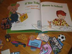 Ms. Vonda's Pre-K : Back to School Books , Visuals and Activities that the Children Love