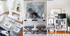 Easy Home Update: Tray Stools | sheerluxe.com