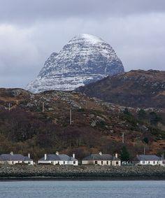 Suilven and Lochinver Scotland