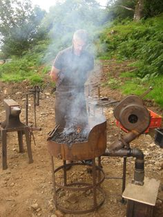 portable forge for knife making