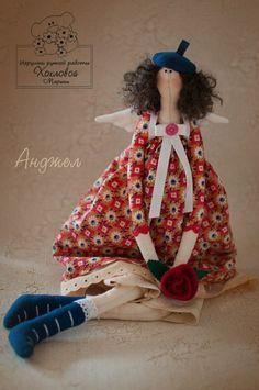 Куклы, тильды и игрушки Марины Хохловой