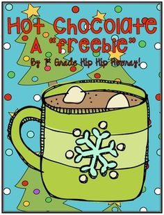 Mmmmm...nothing is more fun than a cup of hot chocolate on a winter night.This packet fits perfectly with the Polar Express and allows kiddos to enjoy hot chocolate while working on their academic content.Writing:OpinionFinal WriteHow to...Word Work:Making wordsWord of the DayVocabulary CardsThe Polar Express product can be found by clicking here.