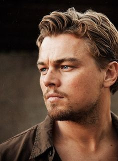 Leonardo DiCaprio // I like the curls in his hair. They'd be really fun to draw/paint.