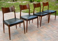 mid century dining chairs - Google Search
