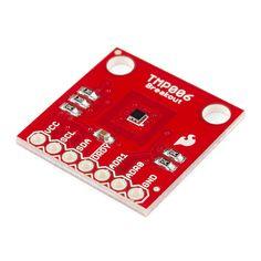TMP006 Infrared Temperature Sensor (detects temp using IR radiation)