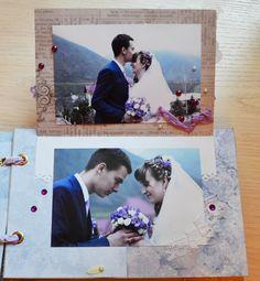 Свадебный альбом ручной работы в нежных тонах | Завиточки моей души