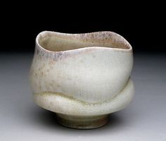 Absolutely gorgeous chawan.  I love the fluidity of the lines.   John Oles Ceramics
