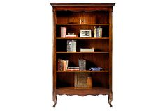 Luberon Open French Bookcase for Master Bedroom