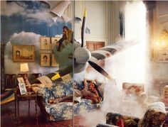 Tim Walker for Vogue. Spitfire photo shoot....remember seeing this ages ago and loving it.