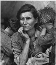 Migrant Mother, 1936 by Dorothea Lange