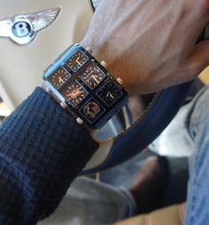 Nero Multi-Time Zone Watch – Clock World Gold Hamsa Pendant, Eternity Bracelet, Bullet Necklace, Gold Chains For Men, Time Zones, Vintage Diamond Rings, Evil Eye Bracelet, Fashion Watches, Watches For Men