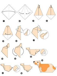 Origami de chien