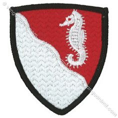 Army Patch: 36th Engineer Brigade - color
