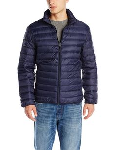 Weatherproof Mens Packable Down Puffer Jacket, Navy, Large Fashion Deals, Fashion Brands, Mens Fashion, Puffer Jackets, Winter Jackets, Packable Jacket, Classic Man, Menswear, Navy
