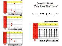 Common Linnets Calm After The Storm Gitaar Akkoorden