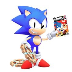 Classic Sonic: Tyson Heese Style in 3D by Nibroc-Rock on DeviantArt