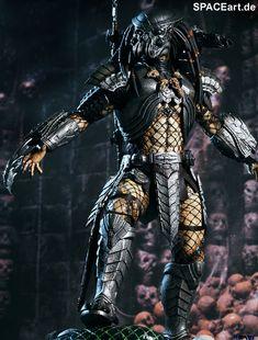 Alien vs. Predator: Celtic Predator - Deluxe Figur, Fertig-Modell, http://spaceart.de/produkte/avp010.php