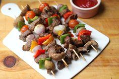 Sirloin Steak Kabobs