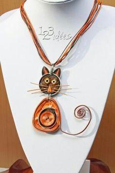 several ideas for nespresso capsules Bijou Capsule Nespresso, Dosette Nespresso, Cat Jewelry, Jewelery, Jewelry Design, Diy And Crafts, Kids Crafts, Ideas Joyería, Bijoux Diy