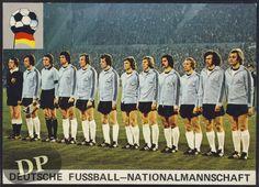 German Soccer Team 1974 (one of 4 World Cup German teams)