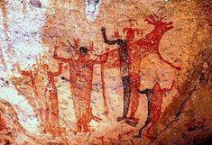 Un especialista de la ENAH asegura que es muy probable que las poblaciones de cazadores recolectores utilizaran las cuevas como espacios rituales donde realizaban ceremonias de petición de lluvia, fecundidad o abundancia. Especial.