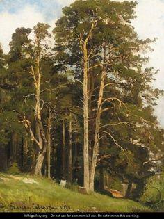 The Edge Of The Wood - Ivan Shishkin