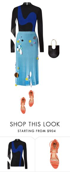 """""""Celine"""" by sandrastories ❤ liked on Polyvore featuring Proenza Schouler, Paula Cademartori and Christopher Kane"""