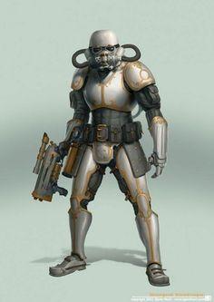 Retrotech/Steampunk Star Wars  By Bjorn Hurri