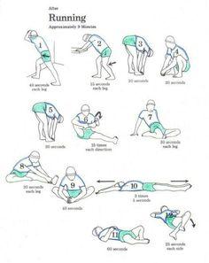 Stretching per il dopo-corsa (9 min)