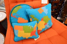 Jonathan Adler - love these pillows!  Would love to design a gender neutral nursery around them.