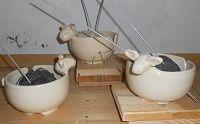 yarn bowl, schaapschaaltje