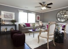 Buying and Selling with The Property Brothers. From Episode Zane and Marie. This living room is my absolute favorite!