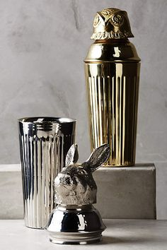 Winterwood Animal Cocktail Shaker - anthropologie.com