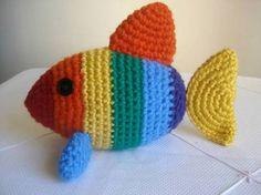 Resultado de imagem para peixes em crochet