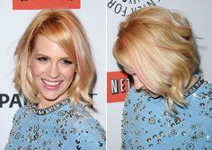 'Mad Men's' January Jones rocks new pink hair streaks