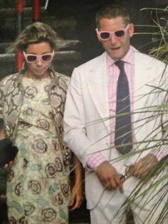 Lapo and Nathalie Bianchi - Isola Bella - Italy - Vita Elkann's Christening - Summer 2013